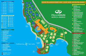 grand map palladium addict resort maps palladium addict the original