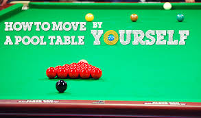 how to set up a pool table how to move a pool table by yourself complete step by step guide