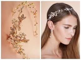 decorative headbands simple but descent headband for brides 10