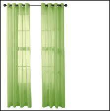 Lime Green Sheer Curtains Green Sheer Curtains