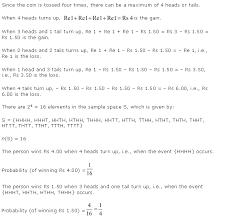 ncert solutions for class 11th maths chapter 16 probability