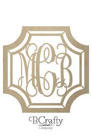 monogram letters gem monogram wooden letters wooden monogram bcrafty