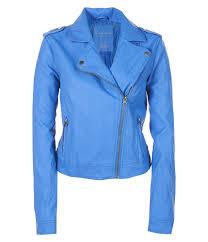 blue motorcycle jacket faux leather moto jacket from aeropostale aeropostale the