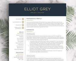 Modern Resume Samples by Teacher Resume Template For Word U0026 Pages 1 3 Page Resume For