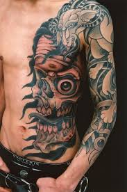 cool genko horror tattoo design in 2017 real photo pictures