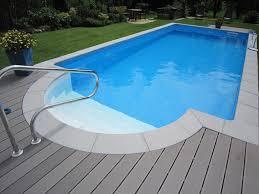 pool treppe selbstbau pool mit römischer treppe und haltegriff