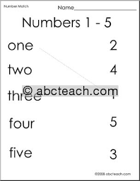 numbers 1 5 worksheets free worksheets library download and