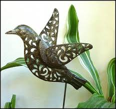 223 best garden decor handcrafted metal garden plant stakes