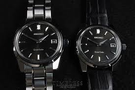 black strap bracelet images Grand seiko on strap versus bracelet JPG