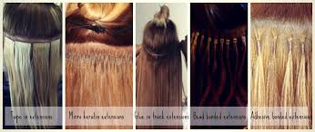 types of hair extensions types of hair extensions for thin hair weft hair extensions