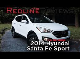 hyundai 2014 santa fe sport 2014 hyundai santa fe sport redline review