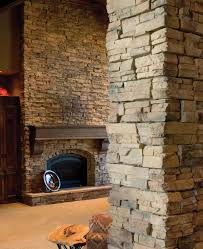 mesmerizing stone wall interior concept applied for contemporary