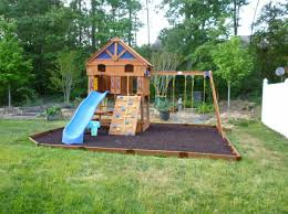 outdoor playground in the garden for hum ideas
