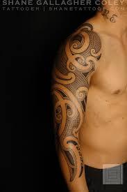 maori sleeve shane tattoos maori sleeve ta moko