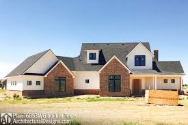 house plan 16853wg comes to life in texas