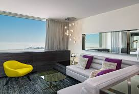w hotel living room an updated lakefront luxury hotel in chicago pursuitist