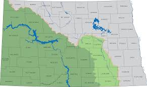 United States Map Missouri by Nd State Water Commission
