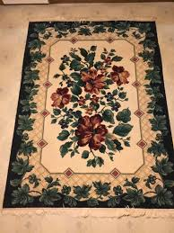 esteem enchantment navy 6x9 area rug with non slip pad household