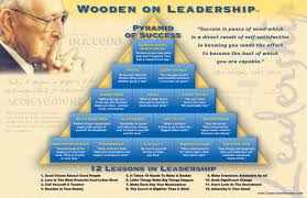 quotes about leadership and helping others john wooden u0027s pyramid of success still relevant in business