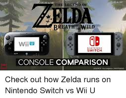 Wii U Meme - the legend of breathtiewild wiiu nintendo switch wiiu console