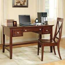 Office Table And Chair Set by Oslo Transitional 2 Drawer Writing Desk With Keyboard Tray