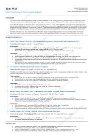 Technical Consultant Cv Stunning Ag Management Resume Contemporary Sample Resumes
