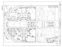 file original drawing site plan naval air station moffett
