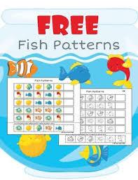 pattern practice games fish patterns free cut and paste pattern practice by tonya lorrayne