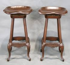 Linon Home Decor Bar Stools Bar Stools Wood French Country Bar Stool With High Back Design