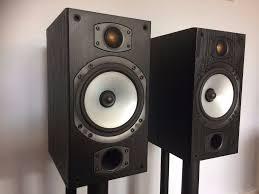 home theater center speaker monitor audio bronze b1 center speaker subwoofer atakama