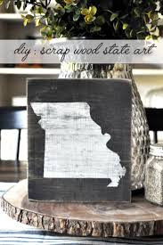 wood state best 25 state ideas on state crafts diy