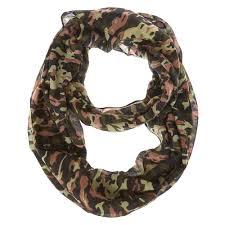 camo print infinity scarf u0027s