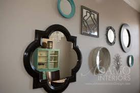 Mirror Collage Wall Mirror Collage A Fun Way To Fill Up Empty Wall Space