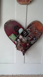 Skateboard Bedroom Ideas Heart Skateboard Art Wall Lamp 60 Art And Creations For Sale