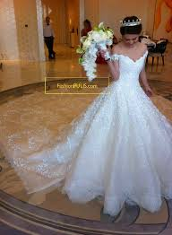 high wedding dresses 2011 luxury bead shoulder cathedral white lace wedding
