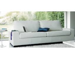 canapé confort canapé cuir 3 places marius convertible grand confort intérieur 202