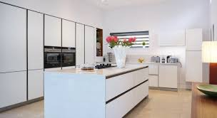 projects contemporary kitchens belfast northern ireland contemporary glass handle less kitchen bangor
