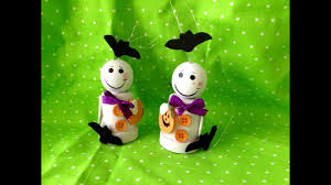 Halloween Ghosts Crafts by Halloween Crafts Diy Flower Pot Ghosts Youtube