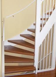 treppe mit laminat verkleiden beispiele renovierter treppen