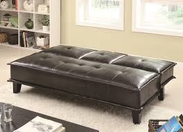 vinyl sofa bed with drop down table