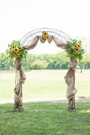 wedding arches houston country wedding on farm farms farming and