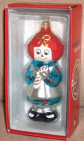 christopher radko raggedy and andy ornaments