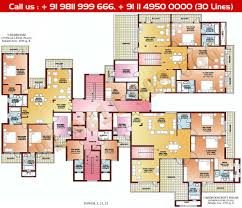 floor plan parsvnath la tropicana