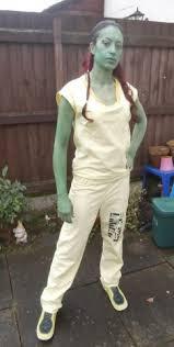 Gamora Costume Guardians Of The Galaxy Prisoner Gamora Costume On A Budget