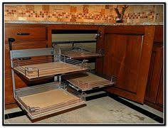 Kitchen Cabinets Shelves Corner Cabinet Idea Pull Out Shelves For The Far Back And The