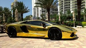 lamborghini limousine blue first gold plated lamborghini aventador lp700 4 better only