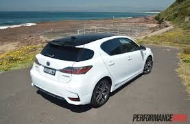 lexus ct200 hybrid lexus ct 200h f sport review video performancedrive