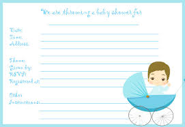 baby shower invitations templates for a boy invitation ideas