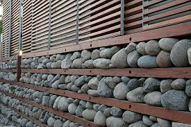 Decorative Gabions Stones Rock Walls Decocative Lights Gabion Wall - Rock wall design
