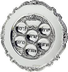 messianic seder plate lowest priced traditional passover seder plate 12 silver plated